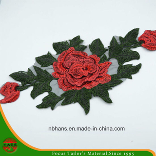 2017 New Design Embroidery Lace (HANS-CH07)