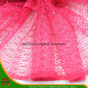High Quality Embroidery Polyester Fabric (HSHY-1704)