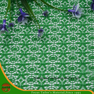 High Quality Embroidery Polyester Fabric (HSHY-1702)