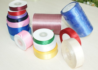 100% Polyester Satin Ribbon Single Face
