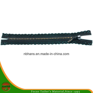 4# Auto-Lock Close-End Diamond Zipper (HANSAX-01)