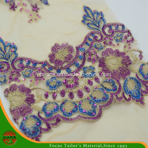 Embroidery Polyester Mesh Fabric for Garment (HAEF160013)