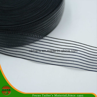 30mm Transparent Stripe Woven Elastic Tape (HATE16300001)