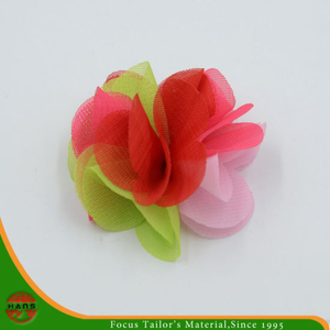 100% Polyester Flowers for Decoration (HSHC-1704)