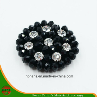 Fashion Acrylic Black Flower (RSD-03)