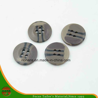 4 Holes New Design Camouflage Button (S-001)