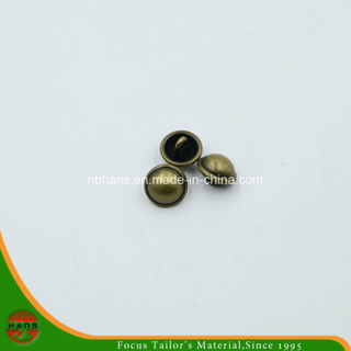 Fashion Bronze Metal Button