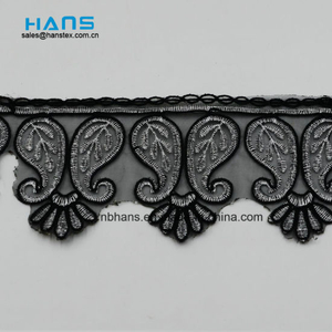 2018 New Design Embroidery Lace on Organza (MLS-1810)