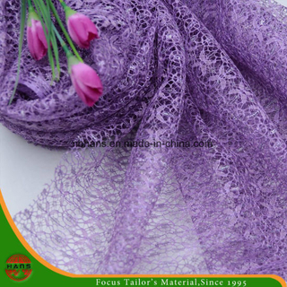 High Quality Embroidery Polyester Fabric (HSHY-1705)