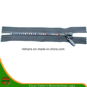 4# Auto-Lock Close-End Diamond Zipper (HANSAX-06)