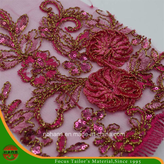 Embroidery Polyester Mesh Fabric for Garment (HAEF160014)