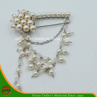 Fashion Accessories Pearl Brooch for Decoration
