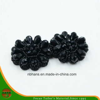 Fashion Acrylic Black Flower (RSD-06)