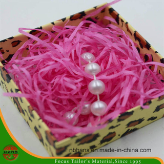2.5mm Fluorescence Pink Raffia Paper for Packing (Z15)