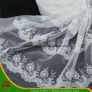 High Quality Embroidery Polyester Fabric (HSHY-1706)