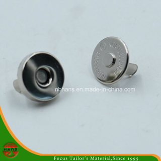 14mm Silver Magnet Button for Handbag (HAWM1650I0003)