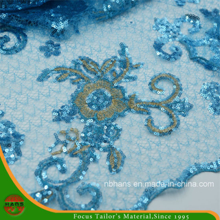 High Quality Embroidery Polyester Fabric (HAEF160002)