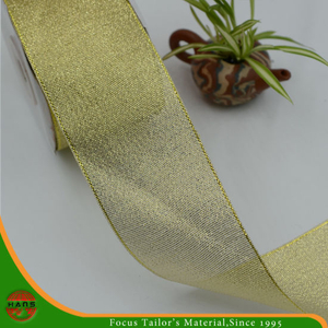 Golden Gift Packaging Ribbon (HANS-86#-121)