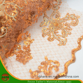1.3m Embroidery Polyester Fabric for Garment (HAEF160003)
