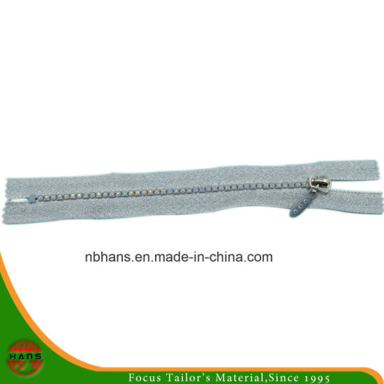 4# Auto-Lock Close-End Diamond Zipper (HANSAX-03)