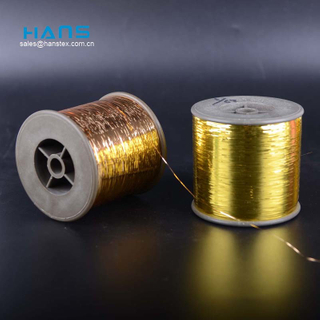 Hans Chinese Supplier Eco Friendly M Type Pure Gold Thread