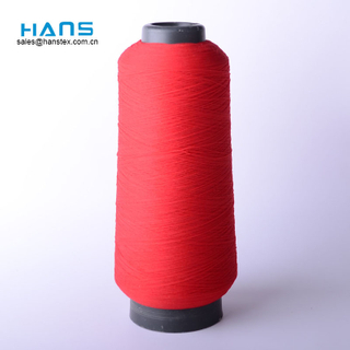 Hans China Supplier Bright Color Textured Thread
