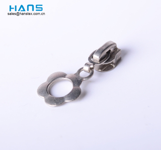 Hans Zinc Alloy Custom Cord Decorative Ring Zipper Pulls