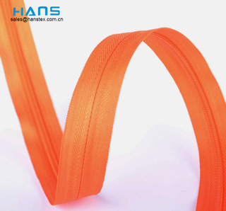 Hans Good Quality Multicolor Invisible Zipper Roll