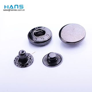 Hans Easy to Use Dry Cleaning Custom Metal Snap Button