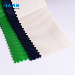 Hans High Quality OEM Strong Rolled Holographic Clear Waterproof PVC Fabric