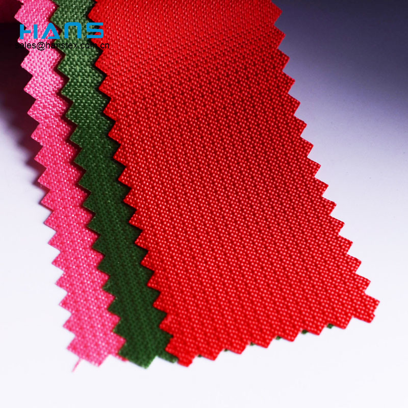 Hans Manufacturers in China Color Bag Material Making Fabric