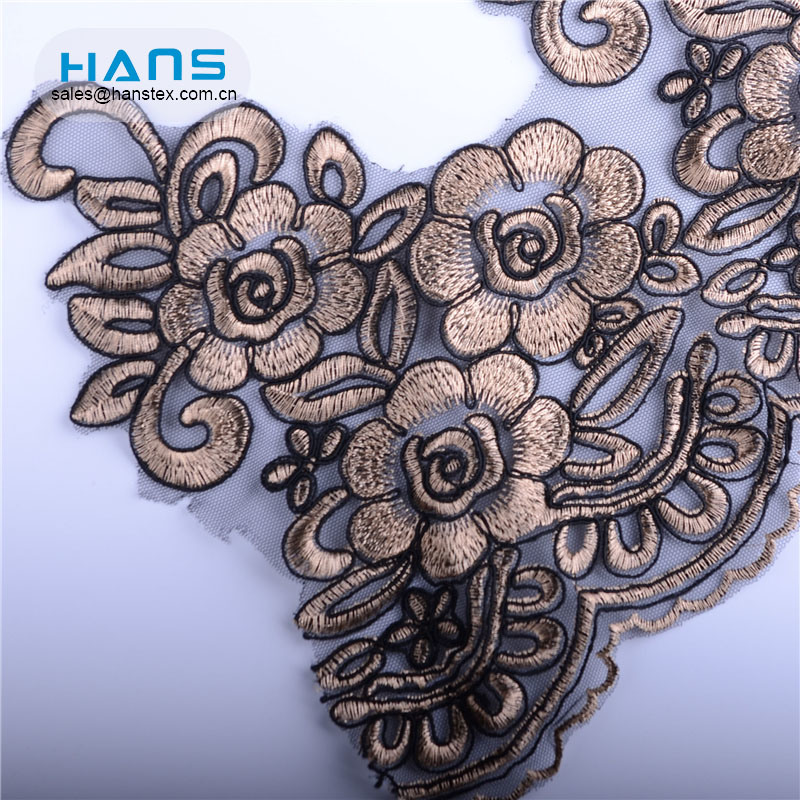 Hans High Quality Professional Design Charinter Lace