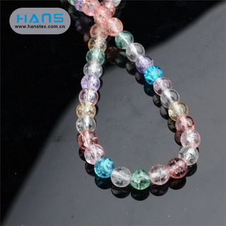 Hans Manufacturer OEM Color Black Glass Bead