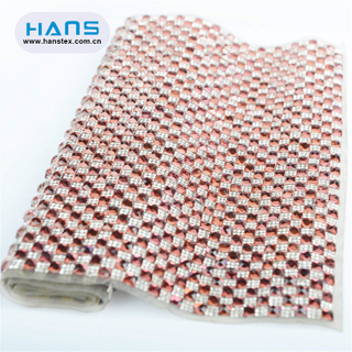 Hans Factory Directly Sell Clear Hotfix Rhinestone Sheet