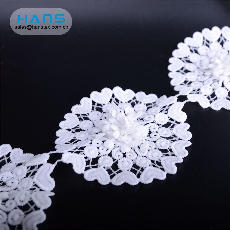 Hans Accept Custom Fashion Crochet Lace