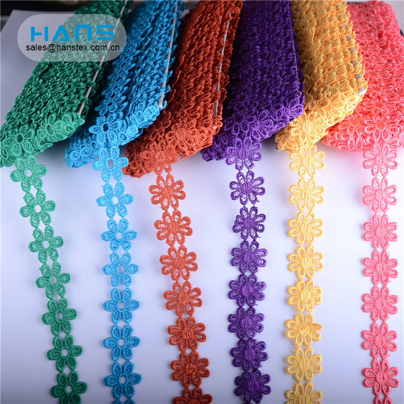 Hans Factory Customized Multi-Color Lace for Lingerie