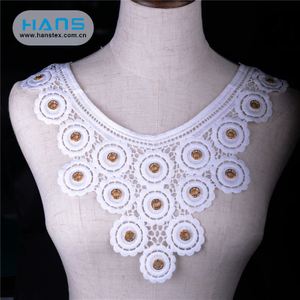 Hans New Custom Stylish Lace Collar Applique