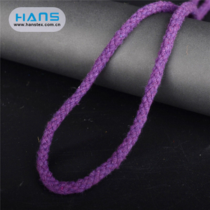 Hans China Manufacturer Wholesale Solid Wholesale Cotton Rope