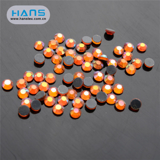 Hans OEM Customized Loose Rhinestone Iron on
