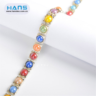 Hans New Design Product New Design Rhinestone Chain Trim