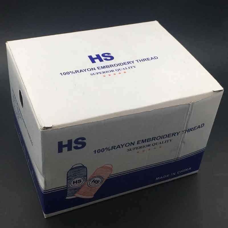 Hans New Custom Durable Reflective Thread for Embroidery
