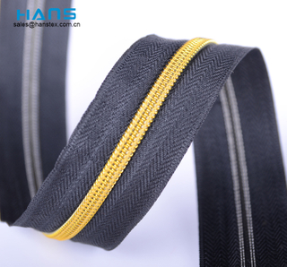 Hans Factory Directly Sell Washable Nylon Zipper Tape