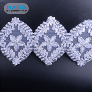 Hans Made in China Promotional Guipure Lace