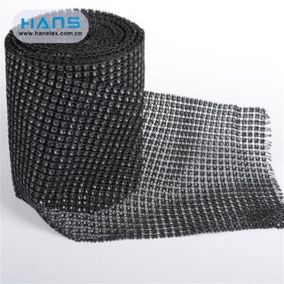 Hans Manufacturer OEM Fashion Rhinestone Mesh Sheet