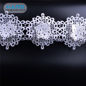 Hans Top Grade Garment Accessories Lace Crochet