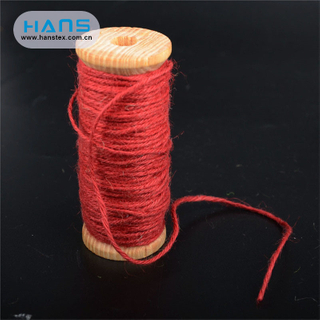 Hans Promotion Cheap Price Fashion Colored Jute Rope