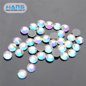 Hans Most Popular Colorful Rhinestone Iron on Transfer
