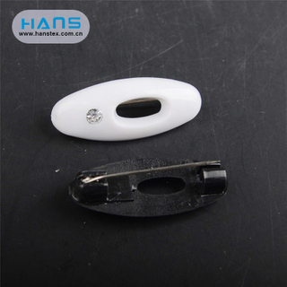 Hans Top Quality Fixed Pear Safety Pin