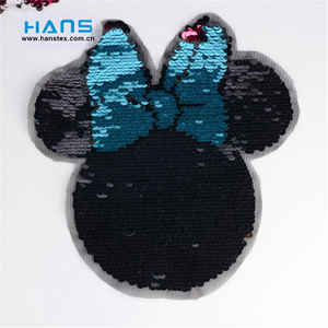 Hans Made in China Pretty Handmade Sequin Flowers