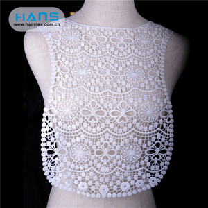 Hans Collar Lace Lace Blouse